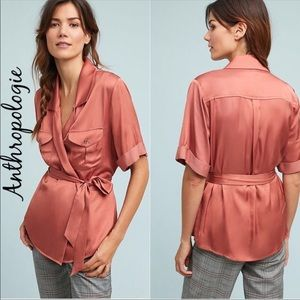 🆕NWT Sz M-L Dolan Left Coast Serengeti Wrap Tunic